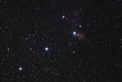 Orion's Belt, Horsehead Nebula and Flame Nebula