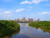 Skyline of Richmond, VA