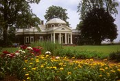 Gardens at Jefferson s home at Monticello