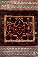 Africa, Tanzania, Zanzibar, Stone Town. Close-up of hand-made carpet.
