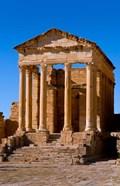 Ancient Architecture, Sufetul, Sbeitla, Tunisia