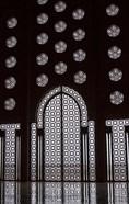 Archway in Al-Hassan II mosque, Casablanca, Morocco