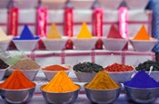 Colorful Spices in the Market, Egypt