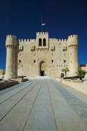 Fort Qu'it Bey, Alexandria, Mediterranean Sea, Egypt