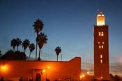 Africa, Morocco, Marrakesh, Koutoubia minaret