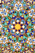 Hassan II Mosque Mosaic Detail, Casablanca, Morocco