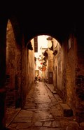 Ancient Alleys in Huizhou-styled Residential Area, China