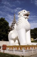 Guardian Lions, Mandalay Hill, Mandalay, Myanmar