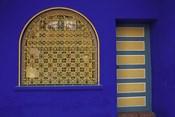 Doorway in Jardin Majorelle, Marrakech, Morocco