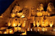 Egypt, Abu Simbel, Greater Temple of Ramses II, Columns