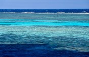 Fisherman, Wooden Boat, Panorama Reef, Red Sea, Egypt