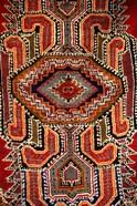 Colorful Rug Artwork, Casablanca, Morocco