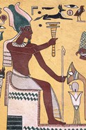 History with Painting Artwork in Luxor, Egypt