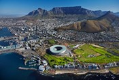 Aerial of Stadium, Golf Club, Table Mountain, Cape Town, South Africa