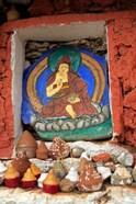 Clay Stupas, Paro, Bhutan