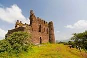 Guzara Castle between Gonder and Lake Tana, Ethiopia