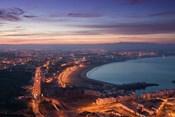 MOROCCO, AGADIR, Boulevard Mohammed V, Coastline
