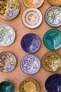 Moroccan Plates, Ensemble Artisanat, Ouarzazate, South of the High Atlas, Morocco