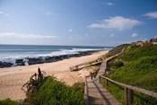Jeffrey's Bay boardwalk, Supertubes, South Africa