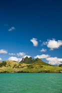 Lion Mountains in South Mauritius, Africa