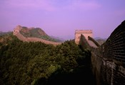 Morning View of The Great Wall of China, Beijing, China