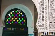 Ornate Souk Doorway, The Souqs of Marrakech, Marrakech, Morocco