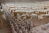 Museum of Qin Terra Cotta Warriors and Horses, Xian, Lintong County, Shaanxi Province, China