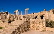 Roman Theater, Ancient Architecture, Dougga, Tunisia