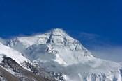 Snowy Summit of Mt. Everest, Tibet, China