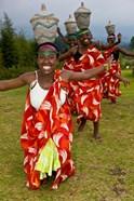 Hutu Tribe Women Dancers, Rwanda