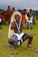 Hutu tribe Male Dancer, Rwanda