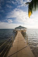 Seychelles, Anse Bois de Rose, Coco de Mer Hotel pier