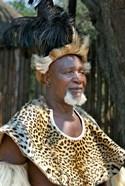 South Africa, KwaZulu Natal, Zulu tribe chief