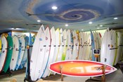 Surf shop, Jeffrey's Bay, South Africa