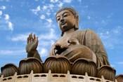 Tian Tan Buddha Statue, Ngong Ping, Lantau Island, Hong Kong, China