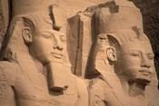 Statues of Ramses II, Abu Simbel, Egypt
