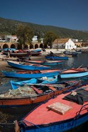 Tunisia, Northern Tunisia, Ghar el-Melh, fishing boat