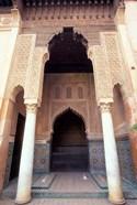Zellij (Mosaic Tilework) at the Saddian Tombs, Morocco