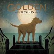 Moonrise Yellow Dog
