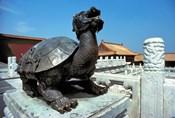China, Beijing, Forbidden City, Turtle statue