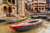 Boats on River Ganges, Varanasi, India