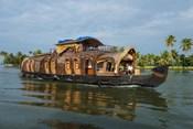 Cruise Boat in Backwaters, Kerala, India