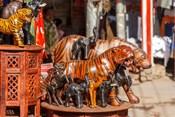 Souvenir Tiger Sculptures, New Delhi, India
