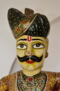 Statue Head, Raj Palace Hotel, Jaipur, India