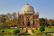 Mosque of Sheesh Gumbad, Lodhi Gardens, New Delhi, India