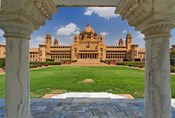 Umaid Bhawan Palace hotel, Jodjpur, India.