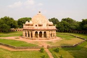 Peaceful Park, Isa Khan Tomb Burial Sites, New Delhi, India