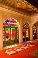 Stained Glass Windows of Fort Palace, Jodhpur at Fort Mehrangarh, Rajasthan, India