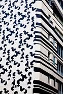 Close up of Building, Hong Kong, China