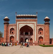 The Royal Gate, Taj Mahal, Agra, India